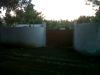 Our new fence and gate!