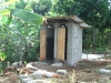 The finished toilets! Needed in order to continue with the building!